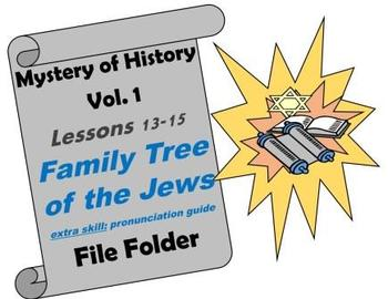 Mystery of History Vol. 1 Lessons 13-15 Family Tree of the Jews