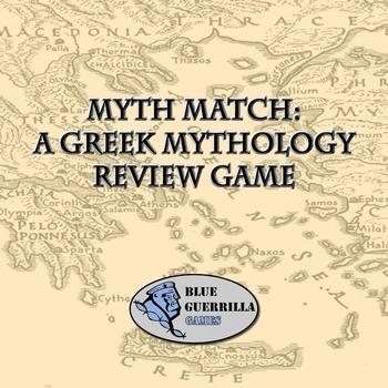Myth Match: A Greek Mythology Review Game