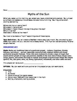 Myth of the Sun