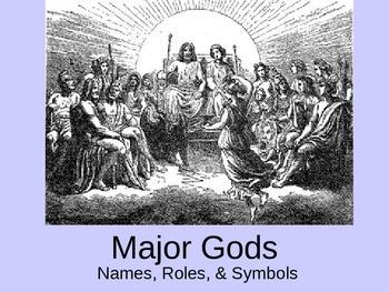 Mythology - Gods/Goddesses Powerpoint