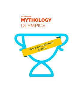 Mythology Olympic Games Weeklong Unit - Group and Individu