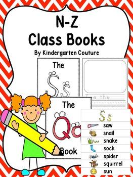 N-Z Class Books