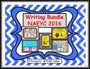 NAEYC 2016 Writing Bundle