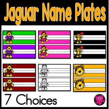 JAGUAR NAME PLATES