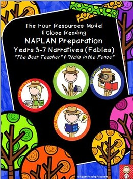 """Narrative BUNDLE Years 3-7 """"The Best Teacher"""" & """"Nails in"""