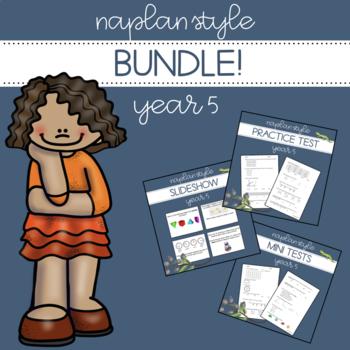NAPLAN Style Bundle - Year 5 Numeracy