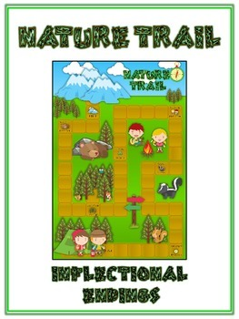 NATURE TRAIL Inflectional Word Endings - ELA First Grade G