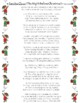 NAVIDAD poema Pancho Claus The Night Before Christmas