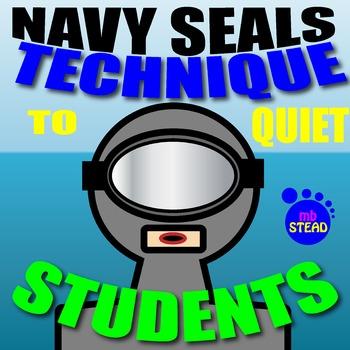 Behavioral Management NAVY SEAL'S TECHNIQUE TO Calm STUDEN