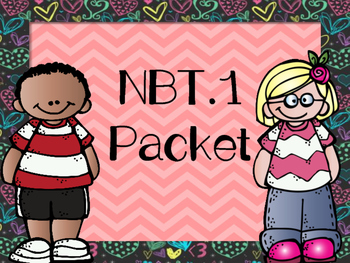 NBT.1 Learning Numbers Bundle