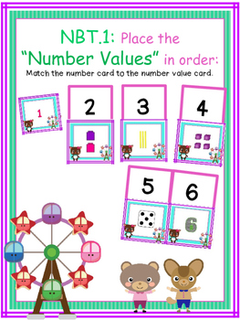 """NBT.1: Place the """"Number Values"""" in order"""