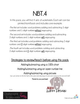 NBT.4 Word Problems