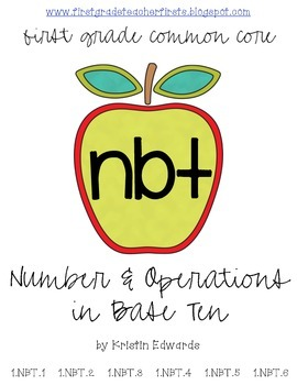 NBT: Number and Operations in Base Ten // First Grade Comm