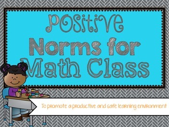 NCTM Norms for Math Class