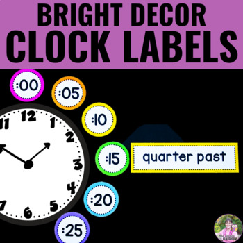 NEON Decor - Clock Display