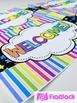 NEON Color Scheme Classroom Decor Materials Pack
