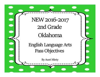NEW  2nd Grade Oklahoma Language Arts Academic Standards a