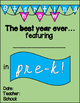 Back to School: First Day Posters Pre-K thru 6th  (color +