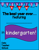 First Day of School Posters Pre-K thru 6th (color + black