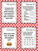 NEW Food Truck Math: Thunder Burger Food Truck Math Task Cards