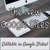 NEW Google Sites Tutorial, Student E-portfolios, Student Websites