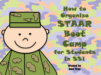 NEW  How to Organize STAAR/SSI Boot Camp or Summer School