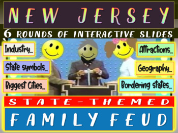 NEW JERSEY FAMILY FEUD! Engaging game about cities, geogra