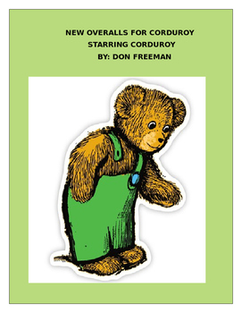 NEW OVERALLS FOR CORDUROY