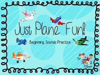 Just Plane Fun! Beginning Sounds