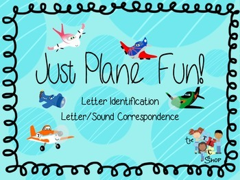 Just Plane Fun! Letter/Sound Games