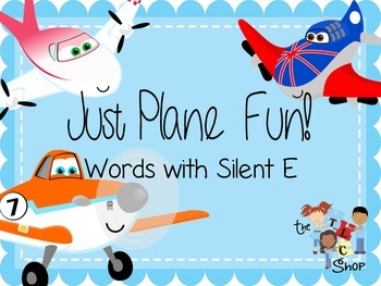 Just Plane Fun! Word with Silent E