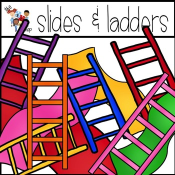 Slides and Ladders Clipart Set