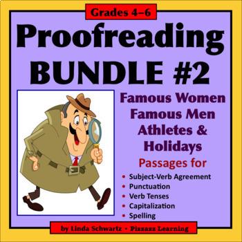 NEW! PROOFREADING BUNDLE #2 • GRADES 4–6