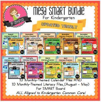 MEGA Smart Bundle for Kindergarten