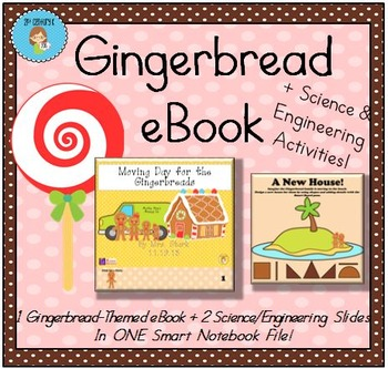 NEW! Themed STEM Smart File - Gingerbread Engineering (eBo