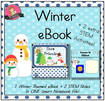 NEW! Themed Smart File - Snow Friends (Includes eBook and