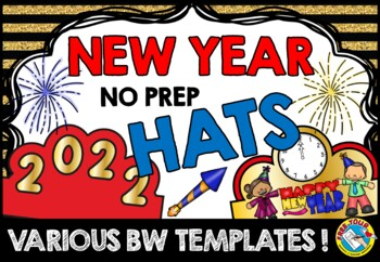 NEW YEAR ACTIVITIES: NEW YEARS CRAFTS: NEW YEAR PRINTABLES