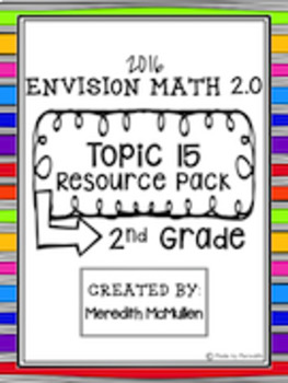 NEW enVision Math 2.0 Aligned 2nd Grade Topic 15 Shapes Re