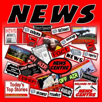 NEWS, NEWSPAPER WRITING AND ROLE PLAY - ENGLISH LITERACY S