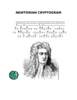 NEWTONIAN CRYPTOGRAM