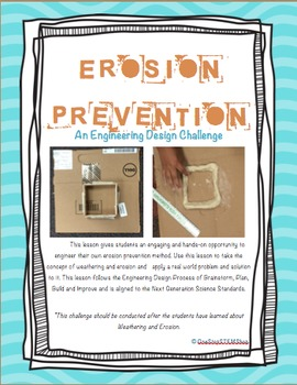 NGSS Earth Science-Erosion Prevention: Retaining Wall Engi
