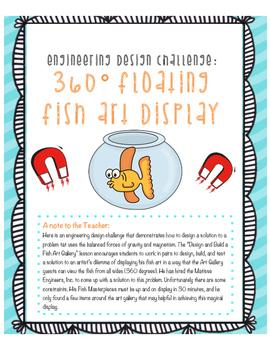 NGSS Engineering Design Challenge- Fish Art Display
