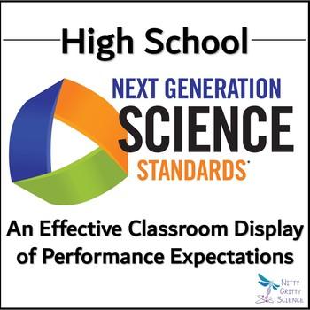 Next Generation Science Standards: HIGH SCHOOL SCIENCE Organizer