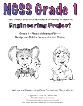 NGSS Grade 1 Engineering Project Build a Communication Device