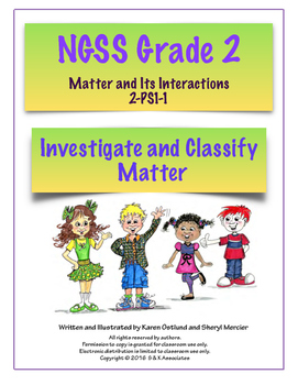 NGSS Grade 2 Investigate and Classify Matter PS1-1