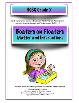 NGSS Grade 2 Matter  Performance Assessment: Boaters on Floaters