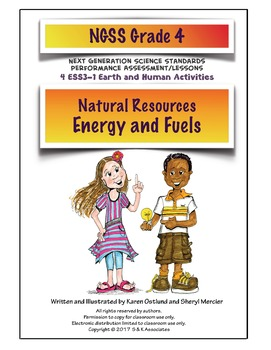NGSS Grade 4 Natural Resources Energy and Fuels Performanc