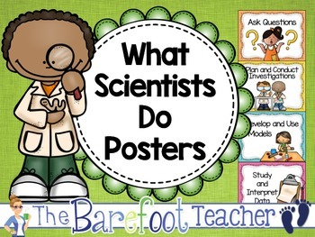 NGSS Performance Expectations Poster Set - FREEBIE