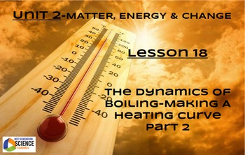 NGSS/STEM Lesson 18 The Dynamics of Boiling--Making A Heat