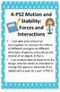 NGSS Science and Engineering Standards Posters Kindergarte
